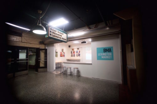 1ee3e4244669 The BMA Lexington Market is a branch of the Baltimore Museum of Art that  opened June 27, 2019. The 250 SF stall is open Thursday through Saturday,  ...